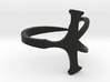 Open Ankh Ring Ring Size 10 3d printed