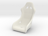 1 8 Modern Racing Seat Single 3d printed