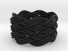 Turk's Head Knot Ring 6 Part X 7 Bight - Size 9.5 3d printed