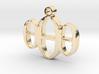 000 Necklace Pendant  3d printed