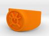 Orange Avarice GL Ring (Szs 5-15) 3d printed