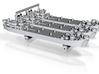 1/2400 US LST Mk2 (x3) 3d printed