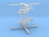 1/700 Eurocopter AS365 Dauphin (x2) 3d printed
