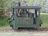 1:45 Tramway loco (without wheels) Backer & Rueb 3d printed Painted model