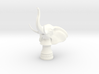 Elephant Rook (Round Base) 3d printed