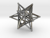 Dodeca Star Wire - 4cm 3d printed