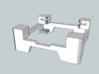 Multirotor Anti Vibration Mount Openpilot CC Board 3d printed