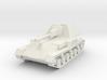 SU-76 Soviet SPG 1/87 (HO) scale 3d printed
