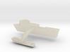 Swift Boat Cufflinks (Pair) 3d printed