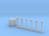 passage a niveau signals 3d printed