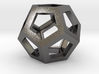 Dodecahedron Necklace Pendant 3d printed