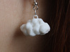Cloud Earring 3d printed