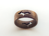 (Size 14) Upper Peninsula Comfort-Fit Ring  3d printed