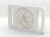 TMI Fearless Rune Buckle 3d printed