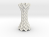 Decorative Column Tessellated Short 3d printed