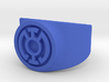 Blue Hope GL Ring Sz 11 3d printed