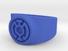 Blue Hope GL Ring Sz 15 3d printed