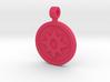 Star Saphire Pendant 3d printed