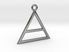 Triad Pendant 3d printed