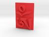 Tibetan Om 3d printed