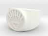 White Life Ver 2 GL Ring Sz 10 3d printed