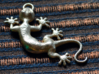Cute Little Gecko Pendant for Animal Lovers 3d printed
