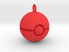 Pokeball keychain 3d printed