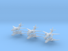 1/600 EA-3B Skywarrior (x6) 3d printed