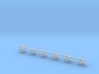 1/542 S-2 Tracker (x12) 3d printed