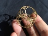 Apollonian Cube Small 3d printed Gold Plated
