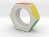 Rubix Ring Size 7 3d printed