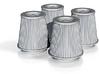 1/16 K&N Cone Style Air Filters TDR 4930 3d printed
