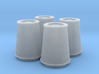 1/25 K&N Cone Style Air Filters TDR 5167 3d printed