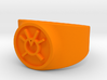 Orange Avarice GL Ring Sz 13 3d printed