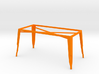 1:12 Pauchard Dining Table Frame, Large 3d printed