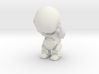 Marvin the paranoid android 3d printed
