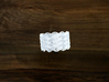 Turk's Head Knot Ring 8 Part X 13 Bight - Size 16. 3d printed