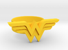 Wonder Woman Ring - size US 6 3d printed