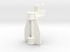 "D&RG Upper Brake Mast Bracket - 2.5"" scale 3d printed"