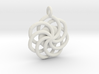 Circular Wrapped Pendant 3d printed