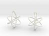 Orbit Earrings 3d printed