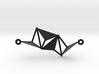 Triangular Pendant 3d printed