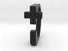 Realist cross ring size 8 U.S. 3d printed