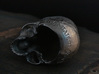Yorick Skull with Latin Inscription 3d printed inscription detail