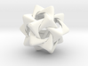 Compound of Five Rounded Tetrahedra 3d printed