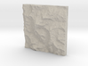 4''/10cm Aconcagua, Argentina, Sandstone 3d printed