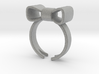 Don't Forget Me Bow Ring 3d printed