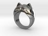 Katy Kat Ring - Size 8 (18.19 mm) 3d printed
