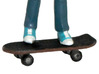 M.A.S.K. Skateboard 3d printed Painted Prototype printed in White Strong & Flexible Polished