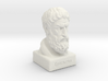 Epicurus Bust 12 inches 3d printed